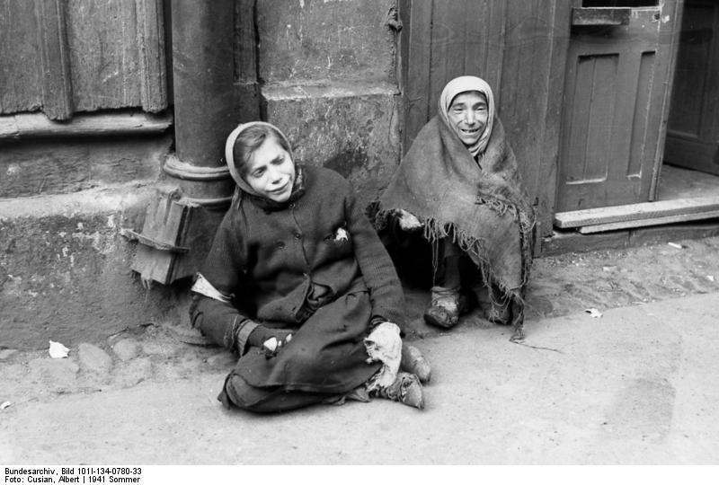 Foto Polen  Ghetto Warschau 2  Afb 13166
