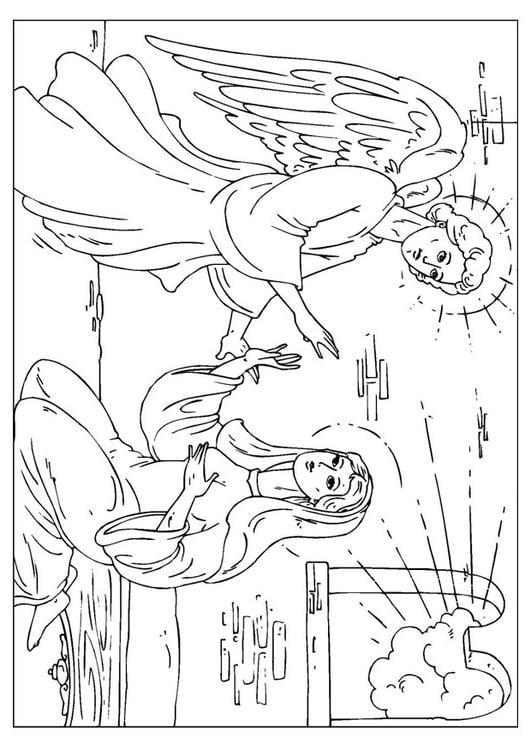 kleurplaat engel gabriel auto electrical wiring diagram  kleurplaat engel gabriel