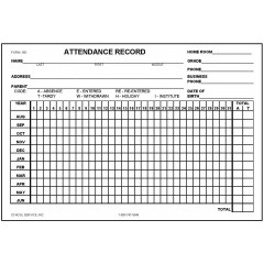 Excuse, Tardy Slip & Admission School Forms