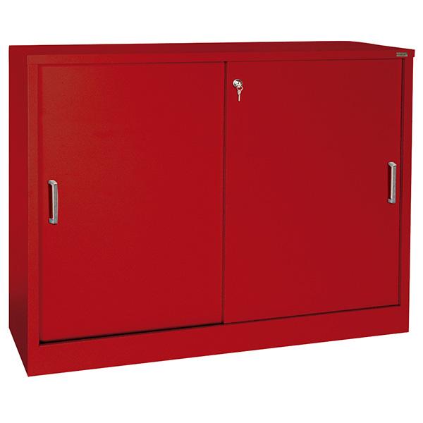 Counter Height Sliding Door Storage Cabinets  SCHOOLSin