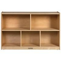 "30""H Birch Storage Cabinet w/ Five Compartments - ECR4Kids ..."