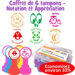 Mes corrections de cahiers - tampons