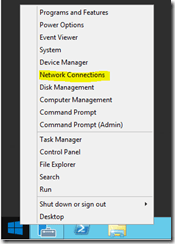 Start Menu - Right Click Context Menu