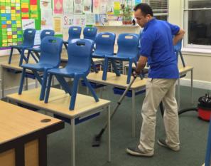 Scholen schoonmaken