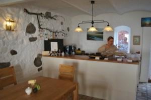 Einblick in das gemütliche Freizeit-Club-Café. Foto: Lutz Reinhardt