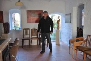 Harald Hillebrand in der Galerie