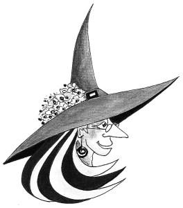Vignette: Großmutter Zeichnung:  Petra Elsner