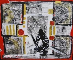 Schattenfänger, 2014, von Petra Elsner