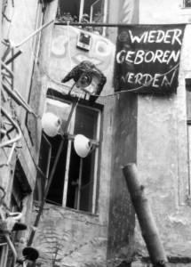 """""""Wieder geboren werden"""", Augsustraße, Berlin 1993"""
