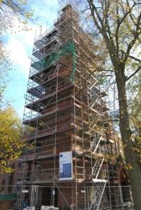 Die Kapper Kirche bekommt einen Kirchturm,  Foto: Petra Elsner