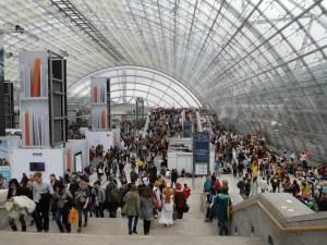 Tausende kleine Auftritte in den Leipziger Messehallen. Foto: Petra Elsner
