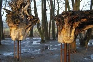 Baumgestalten am Entdeckerpfad.