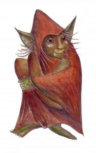 Croll. Zeichnung von Petra Elsner