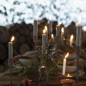Kerzenhalter Stimmung Schmiedeeisen handgefertigten