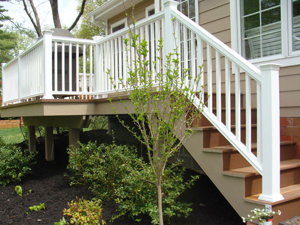 Azek Railing Webster Groves MO  Schraders Contracting