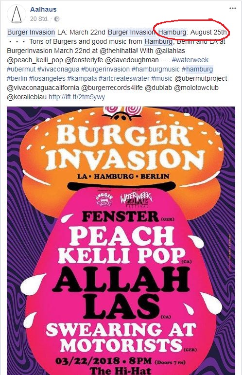 Burger Records Burger Invasion 2018