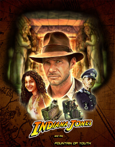 Indiana Jones Logo Generator