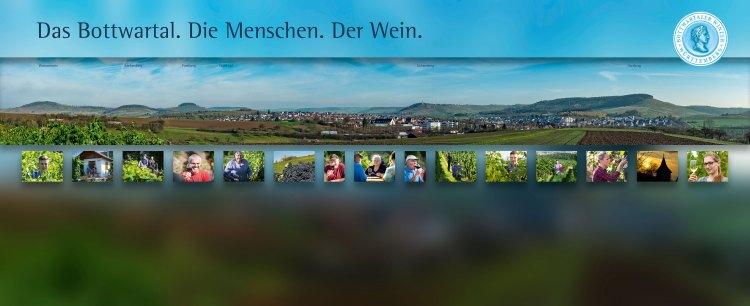 Fotowand Bottwartaler Winzer 730 x 300 cm