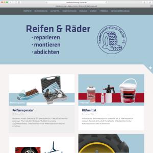 Internetseite Handelsvertretung Fischer