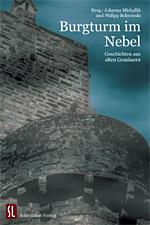 Burgturm im Nebel