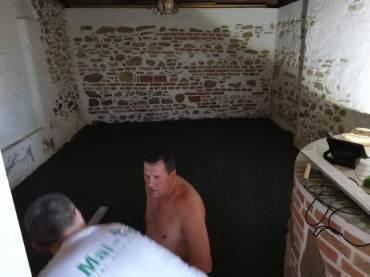 Renovierung Glockenzimmer