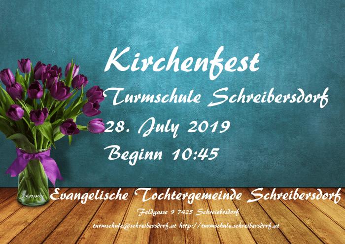 Kirchenfest Schreibersdorf