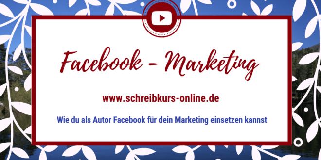Facebook für Autoren