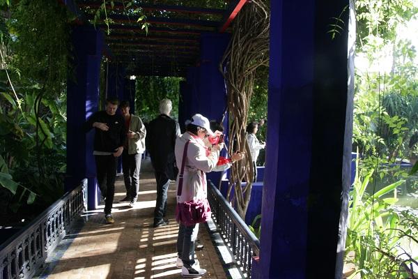 Der Jardin Majorelle Marrakesch – eine blaue Oase in der Stadt