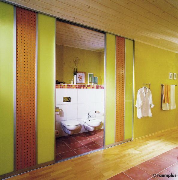 Badezimmer  Schiebetren  Schreiner Straub