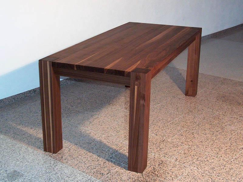 Mbel  Wohn  Esszimmer  Tisch Nussbaum  Schreinerei