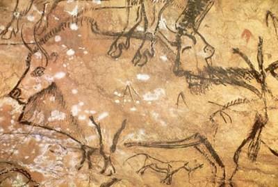 Schreuder & Kraan over kunst; grottekening uit Niaux, Frankrijk