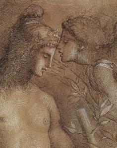 Gustave Moreau, Hesiodos en de Muze.