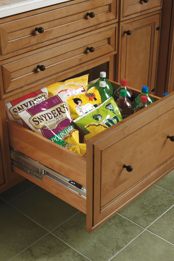 Deep Drawer Base Cabinet  Schrock Cabinetry