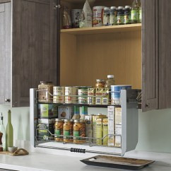 Kitchen Wall Shelf Farmhouse Sink Pull Down Cabinet - Schrock Cabinetry