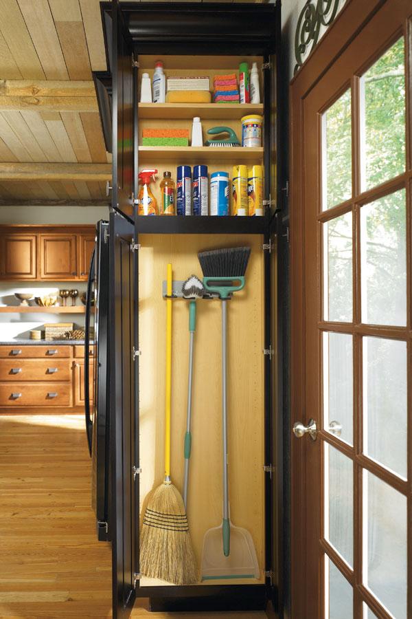 Utility Organizer Cabinet  Schrock Cabinetry