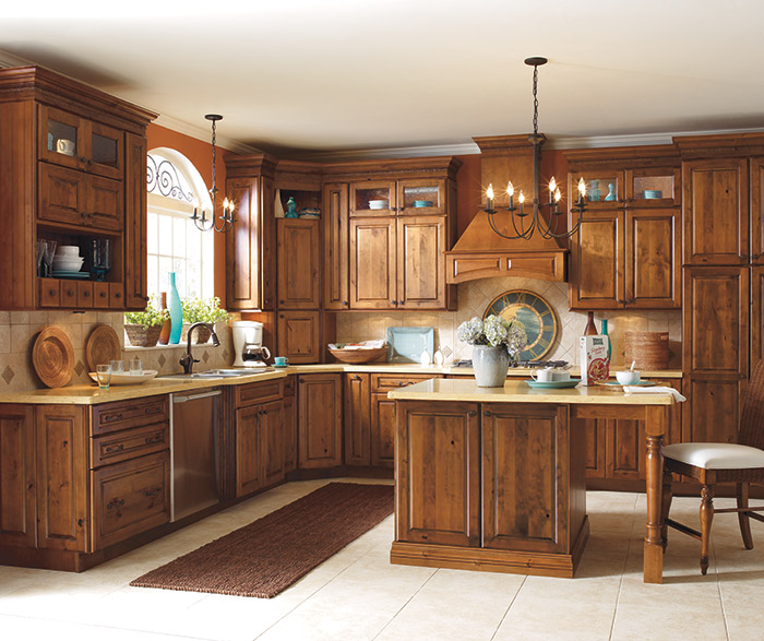 alder kitchen cabinets outdoor bbq kits rustic schrock cabinetry chanley in whiskey black finish
