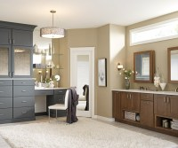 White Bathroom Vanity and Storage Cabinet