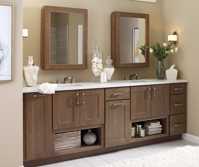 Shaker Bathroom Cabinets  Schrock Cabinetry