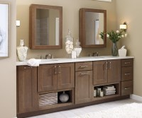 Shaker Bathroom Cabinets - Schrock Cabinetry