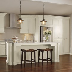 Kitchen Cabinets White L Shaped Outdoor Off Schrock Cabinetry More Rooms In This Gallery