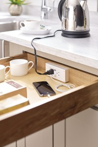 Powerglide Cabinet Drawer Outlet - Schrock Cabinetry