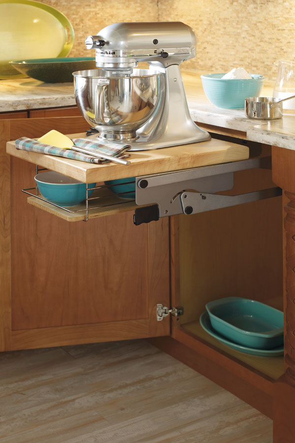 Base Mixer Cabinet  Schrock Cabinetry