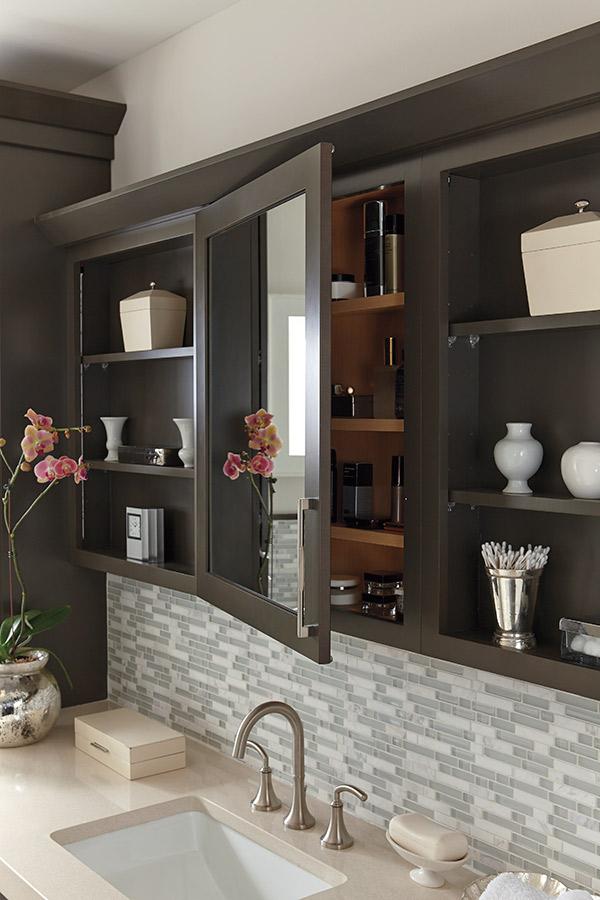 Wall Vanity Mirror Cabinet  Schrock Cabinetry
