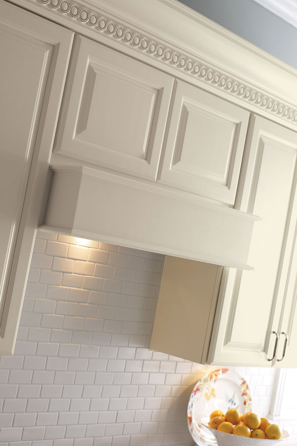 Wood Hood Canopy Square  Schrock Cabinetry