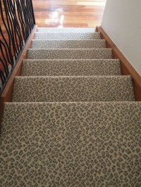 patterned carpet on stairs - Home The Honoroak
