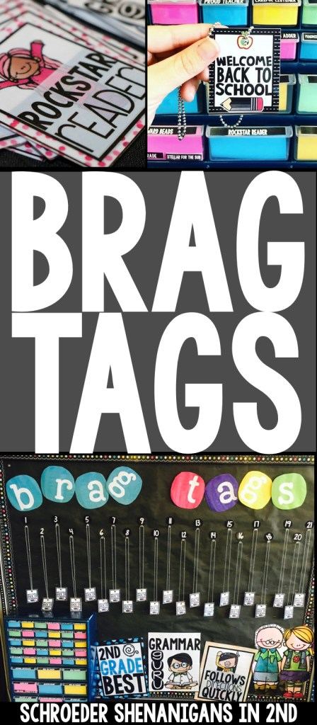brag tags, classroom management, positive reinforcement