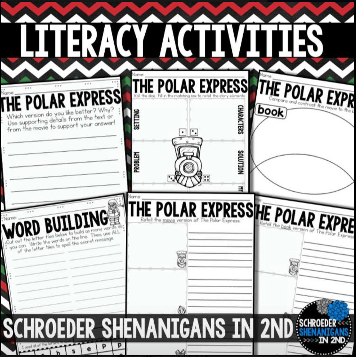 holiday traditions, christmas in the classroom, elf on the shelf, polar express, 2nd grade christmas traditions