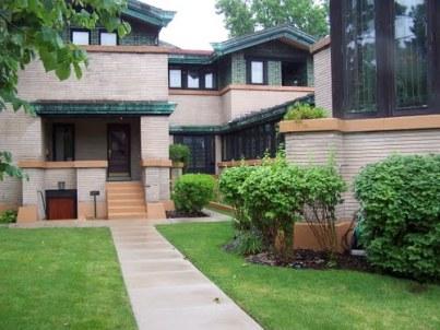 The Dana-Thomas house by Frank Lloyd Wright