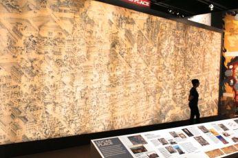 "Display in Missouri History Museum exhibit, ""A Walk in 1875 St. Louis."""