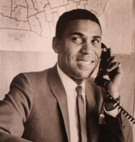 William Lacy Clay Sr. Photo from Missouri History Museum exhibit, #1 in Civil Rights